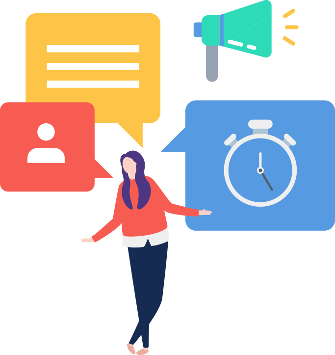 Compartilhe relatórios, impressione seus clientes