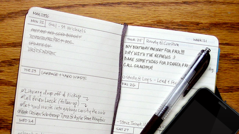Complete and Incomplete To-Do Lists