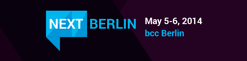 TrackingTime at the NEXT Berlin
