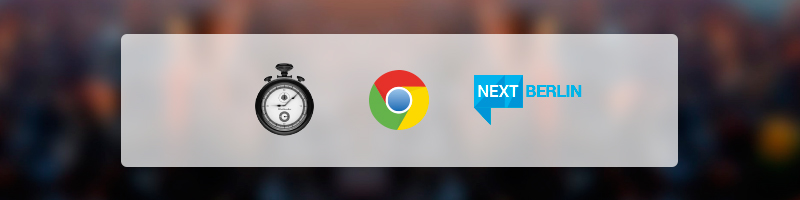 TrackingTime Launches Brand New Chrome App in Berlin