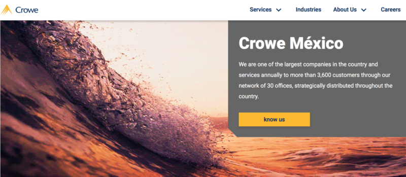 Crowe Global improves productivity