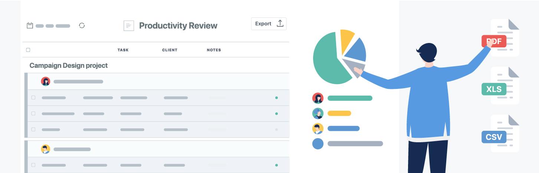 5 Tipos de reportes que puedes crear con TrackingTime
