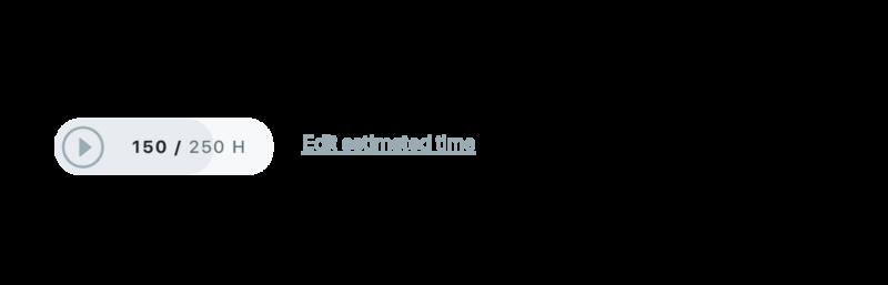 Estimaciones de tiempo