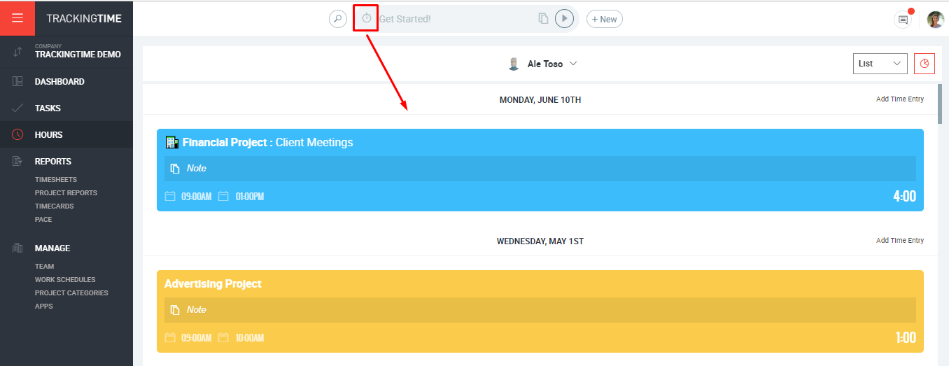 HOUR LIST VIEW: A NEW WAY TO MANAGE YOUR TIME ENTRIES!💪