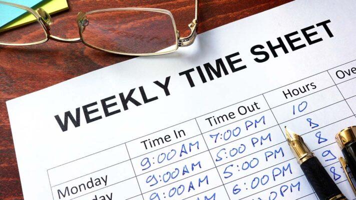 timekeeping manually