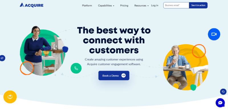 Acquire - Marketing Automation Tools to Try in 2021