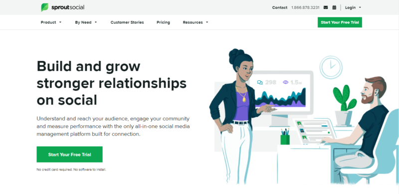Sprout Social - Marketing Automation Tools to Try in 2021