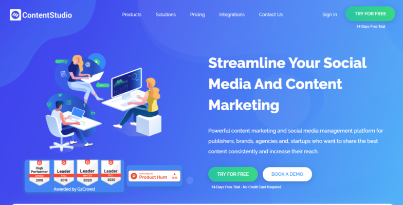 Content Studio - Marketing Automation Tools to Try in 2021